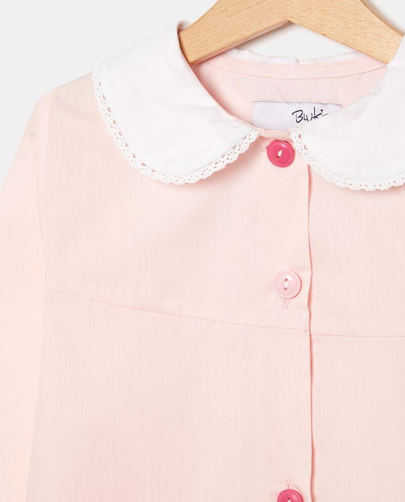 Grembiule con colletto merletto bambina single tile 1