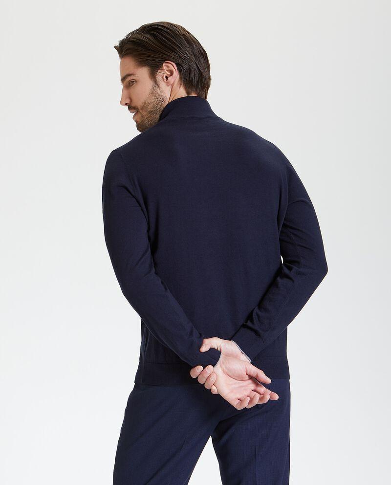 Maglione con colletto in caldo cotone uomo