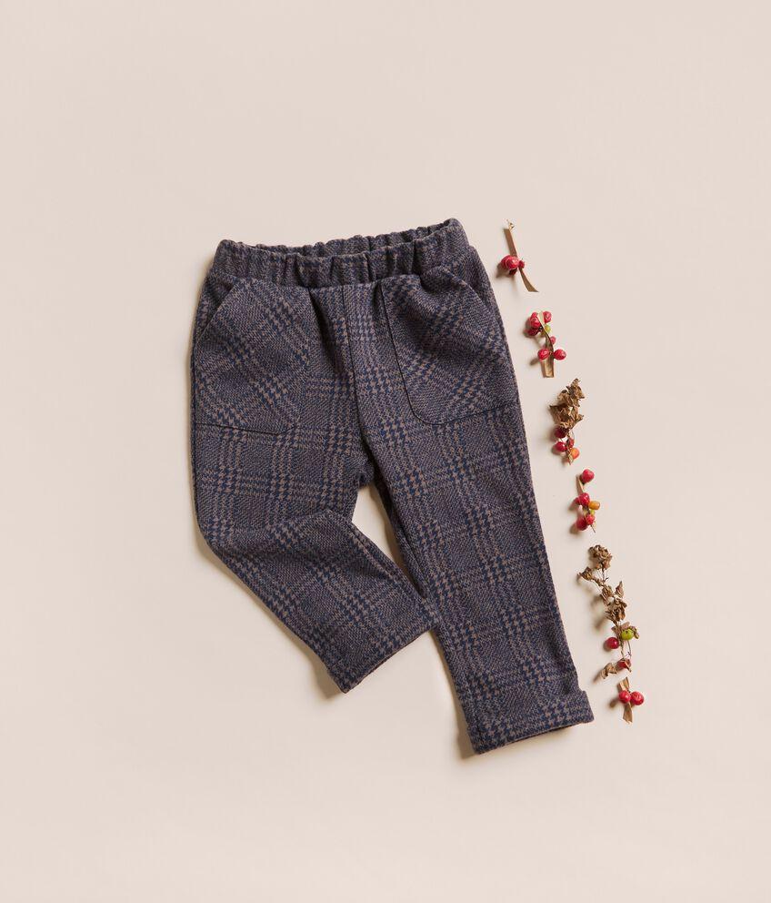 Pantaloni punto milano jacquard IANA Made in Italy double 1