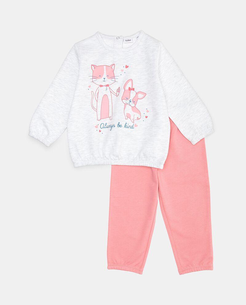 Set pigiama con maglia e pantaloni neonata