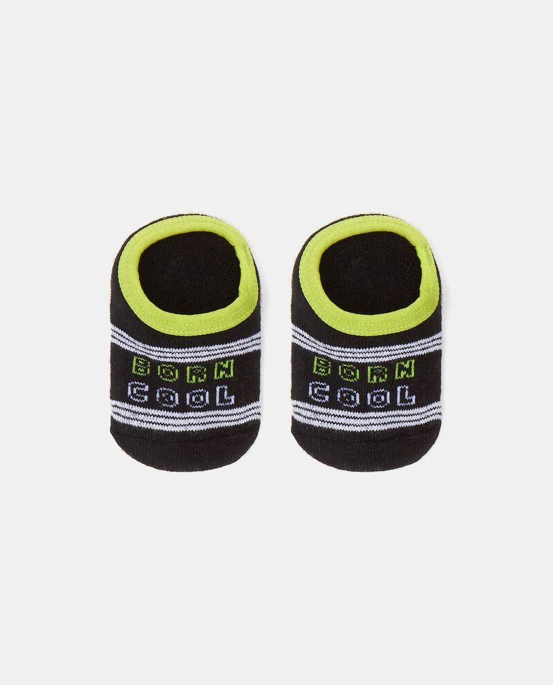 Calzini stampati in cotone elasticato neonato cover