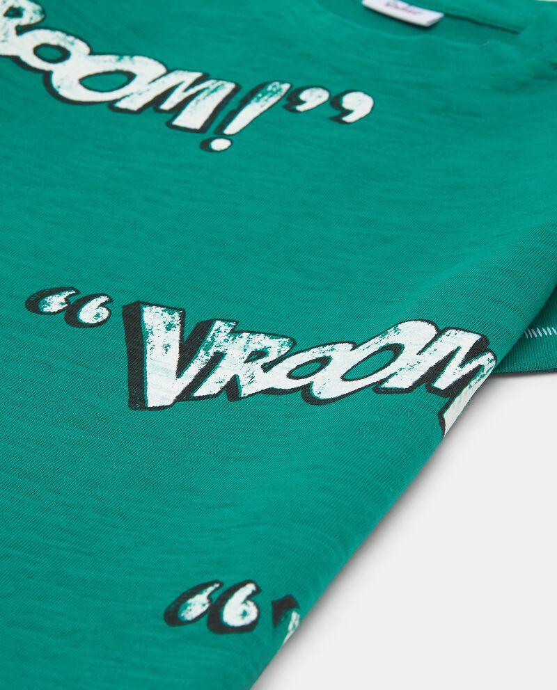 T-shirt cotone fantasia lettering