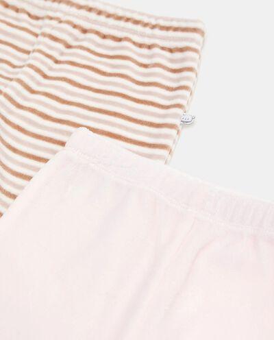 Bipack con 2 pantaloni di cotone biologico detail 1