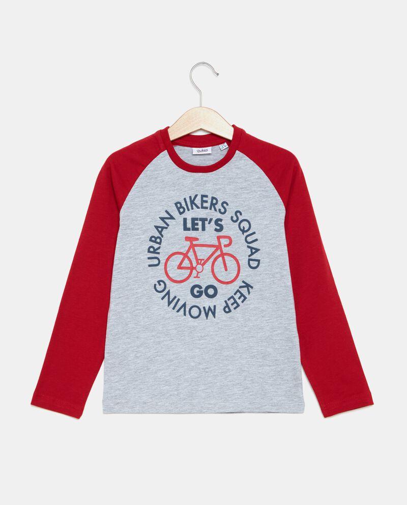 T-shirt effetto mélange bambino