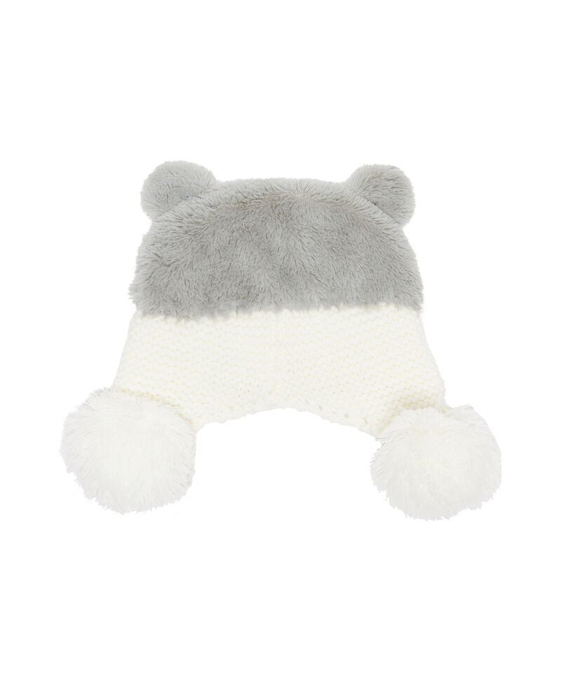 Cappello a cuffia motivo husky