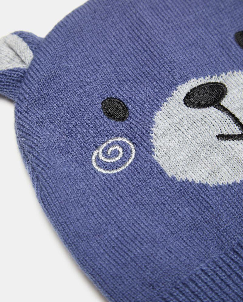 Berretto tricot orso neonato single tile 1