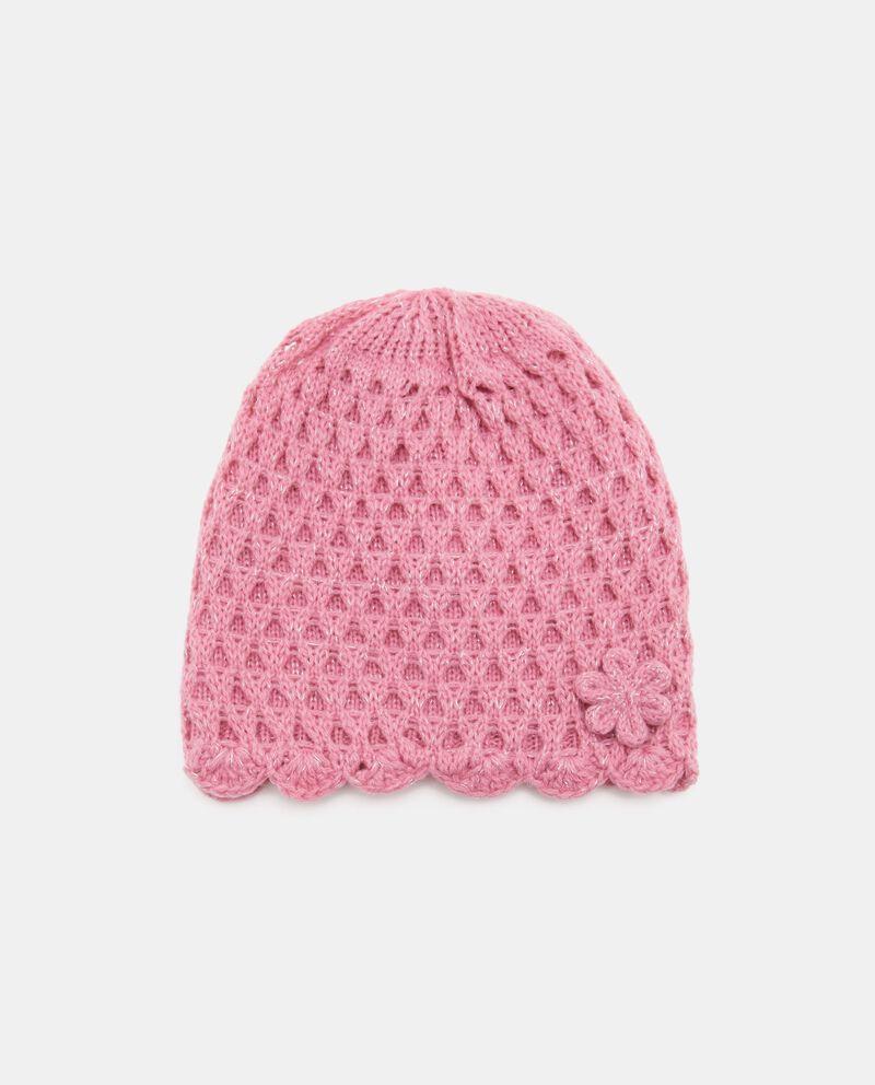 Cappellino crochet in tinta unita