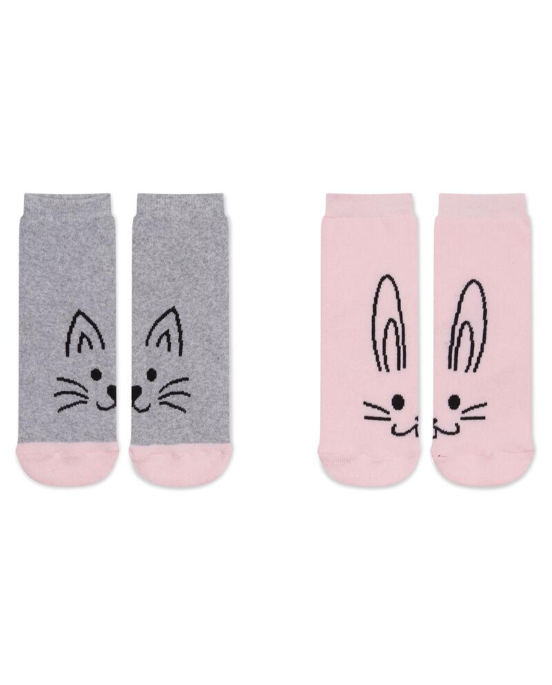 Set due calze antiscivolo animaletti