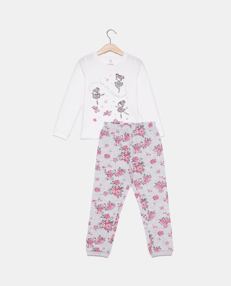 Set pigiama con stampa bambina
