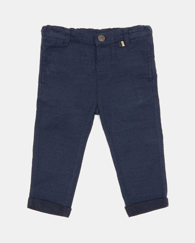 Pantaloni in tinta unita cover