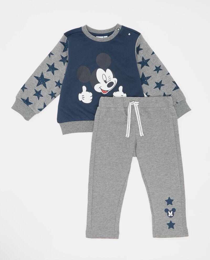 Set jogging felpa stelle e pantaloni neonato