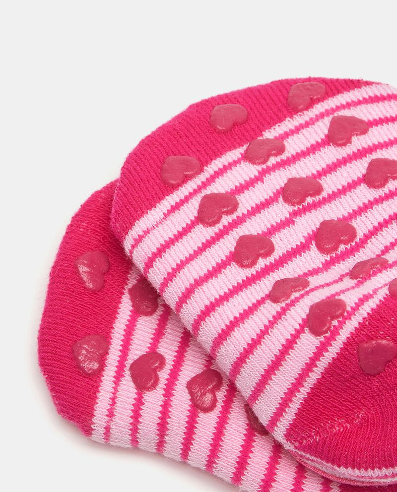 Calzini antiscivolo in cotone elasticato neonata