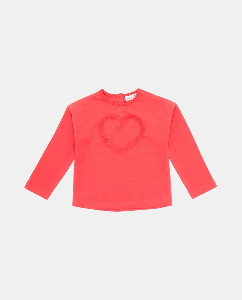 Maglia con cuore neonata