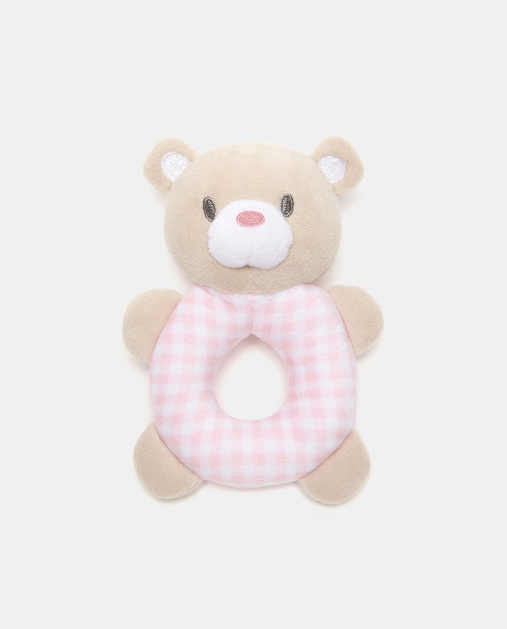Doudou orsetto ad anello in peluche