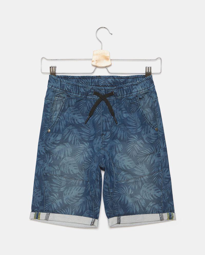 Shorts in felpa stampati ragazzo cover
