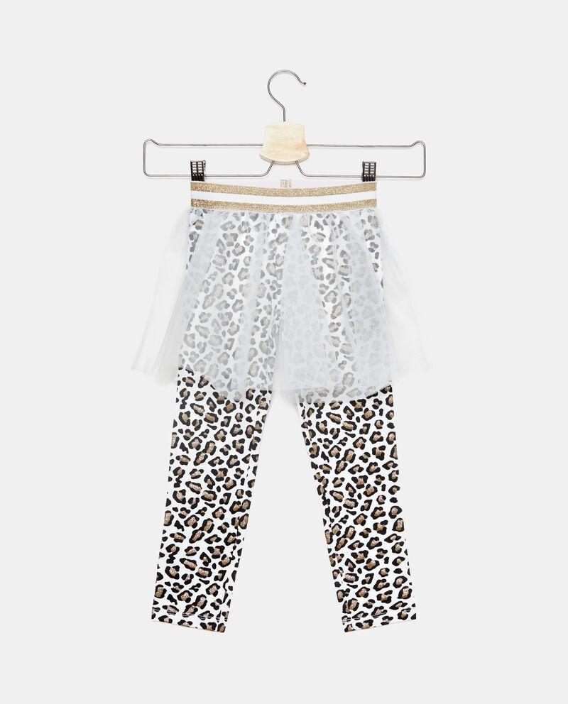 Gonna pantalone animalier bambina bambina