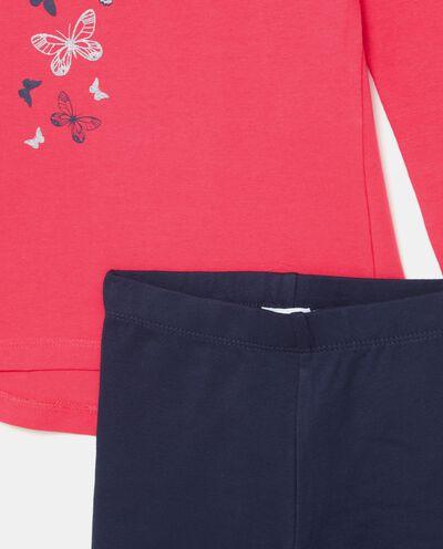 Set jogging maglia e leggings