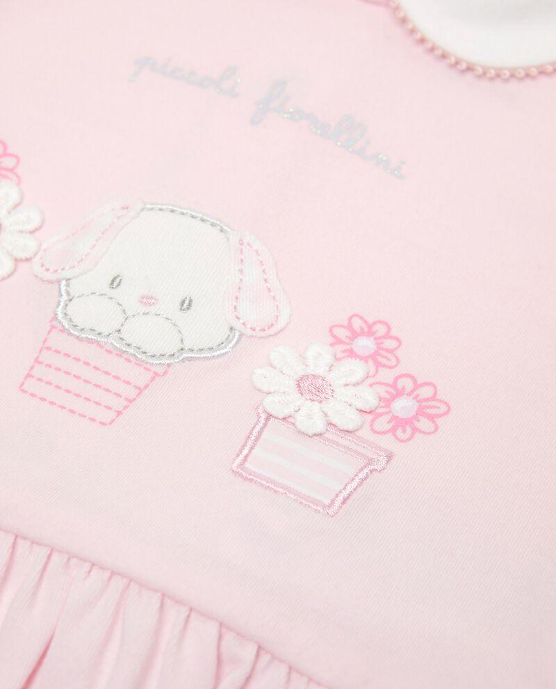 Set in cotone organico maglia e pantaloncini