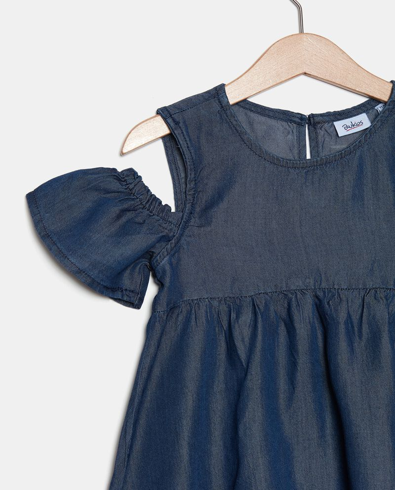 Vestito in lyocell shoulder off bambina