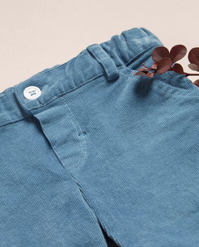 Pantaloni in velluto a coste neonato IANA Made in Italy detail 1