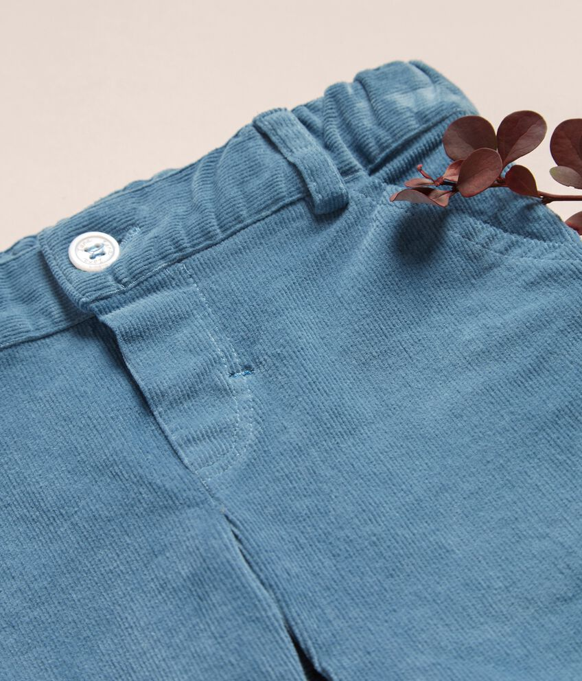 Pantaloni in velluto a coste neonato IANA Made in Italy double 2