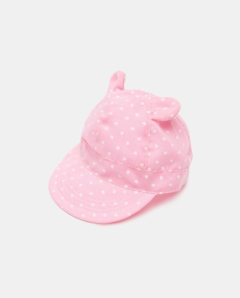 Berretto da baseball morbido in puro cotone neonata