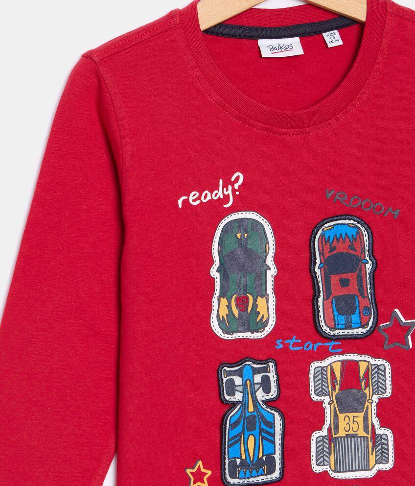 T-shirt con stampa di cotone organico bambino double 2