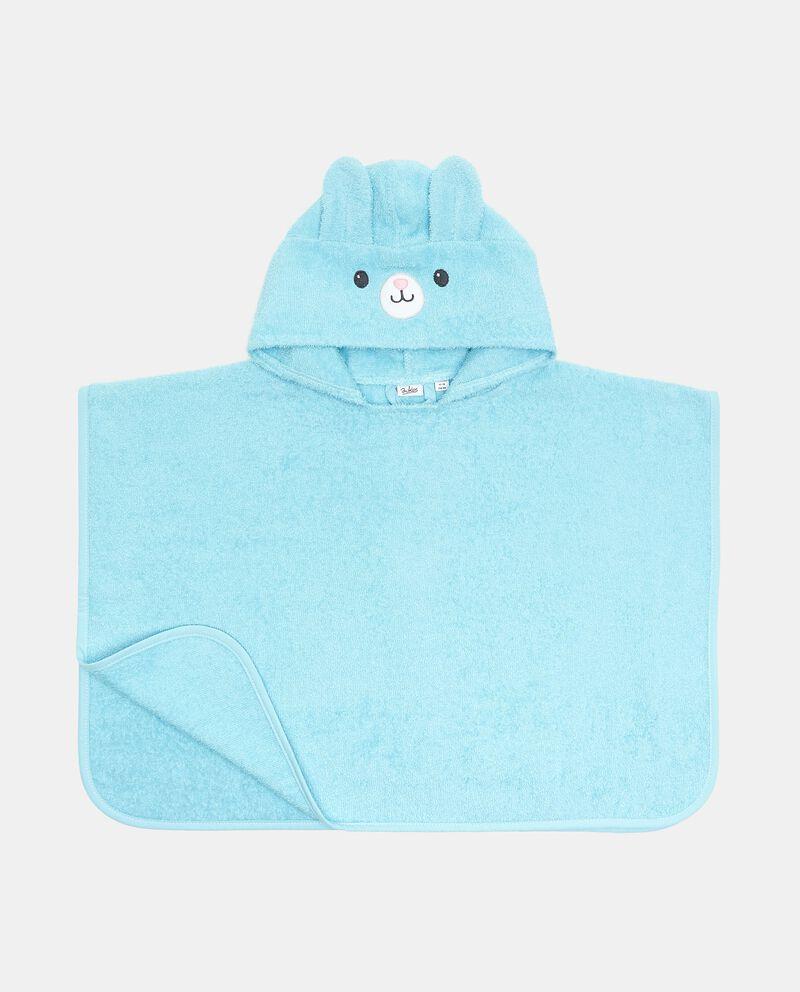 Accappatoio in cotone organico poncho neonato