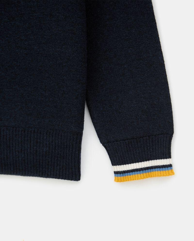 Girocollo di tricot in cotone bambino single tile 1