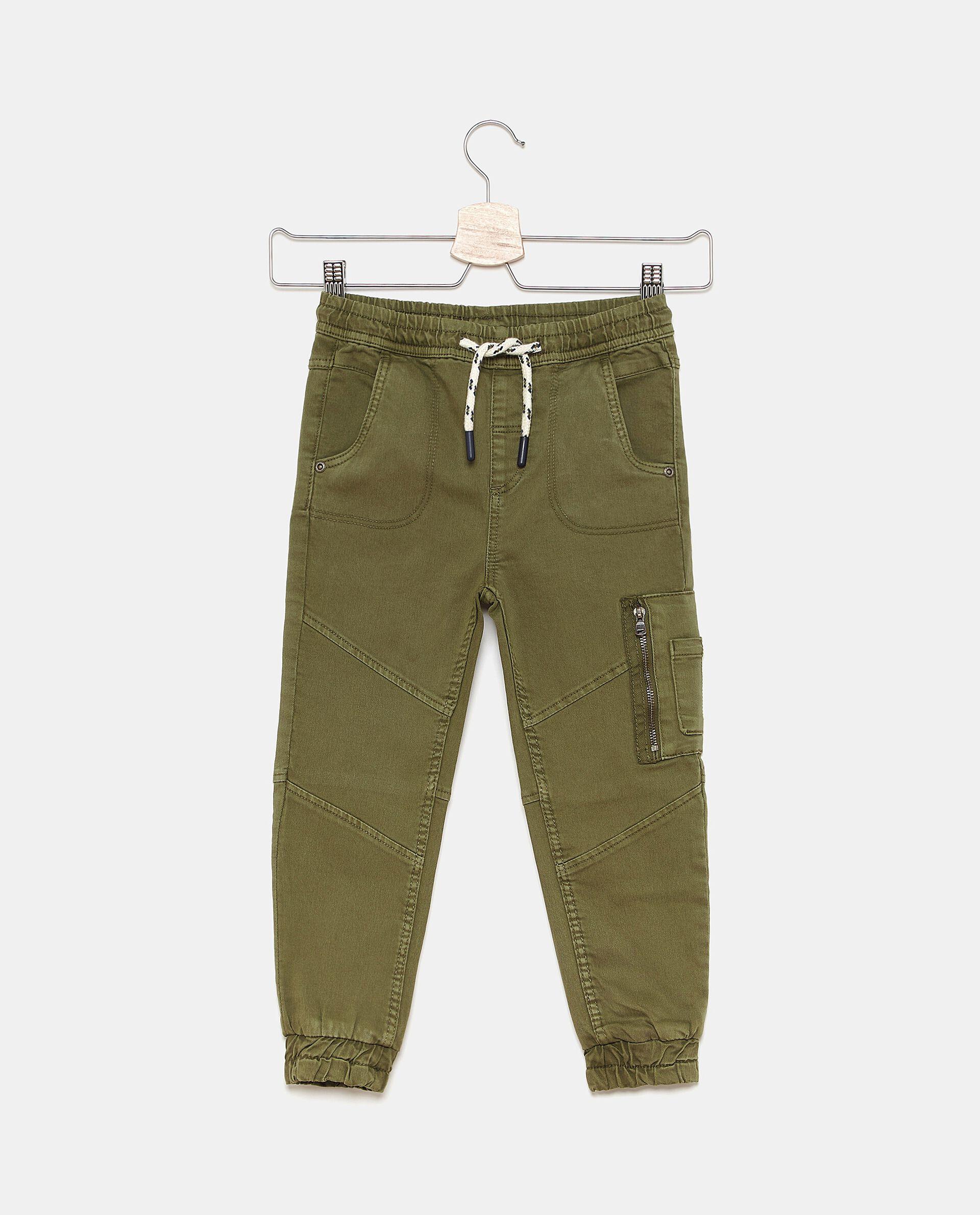 Pantaloni sportivi tinta unita bambino