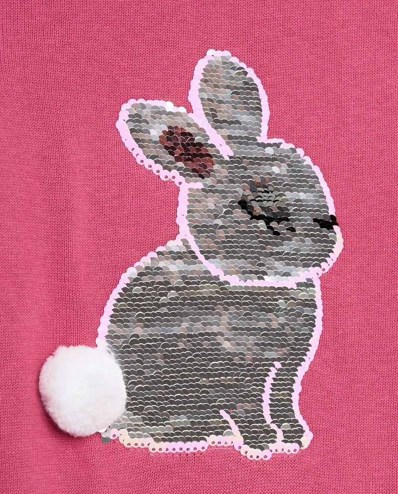 Pullover tricot con paillettes bambina single tile 1