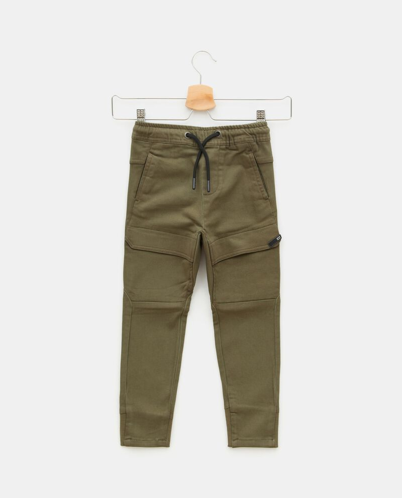Pantaloni cargo in cotone elasticizzato bambino cover