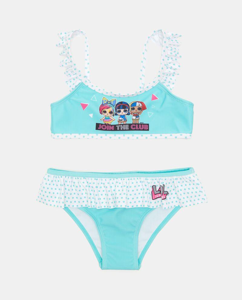 Costume bikini stampa Lol bambina