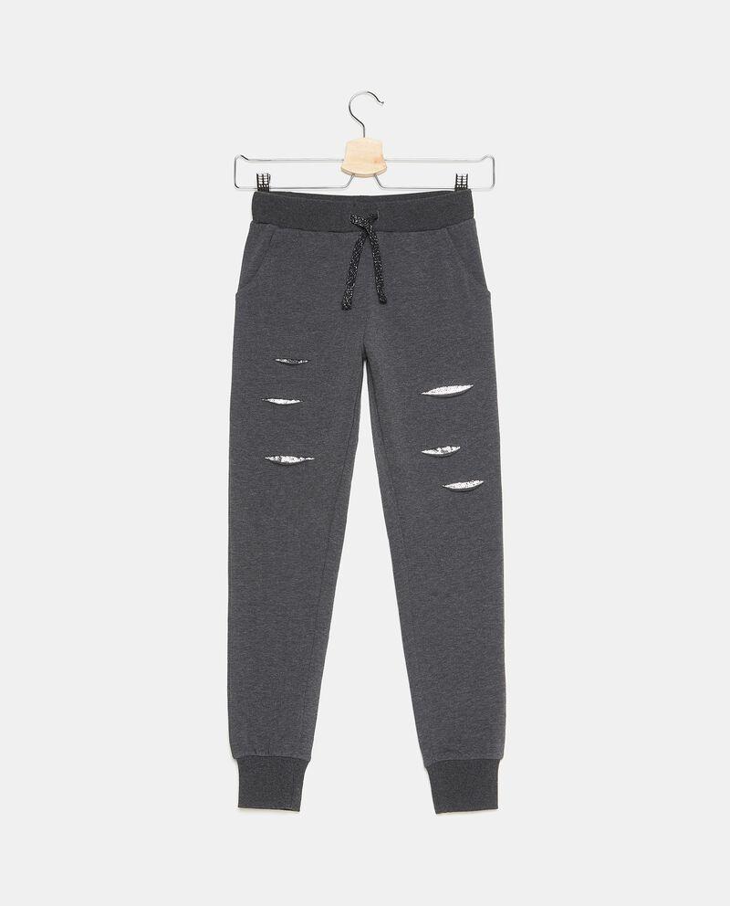 Pantaloni sportivi con strappi ragazza