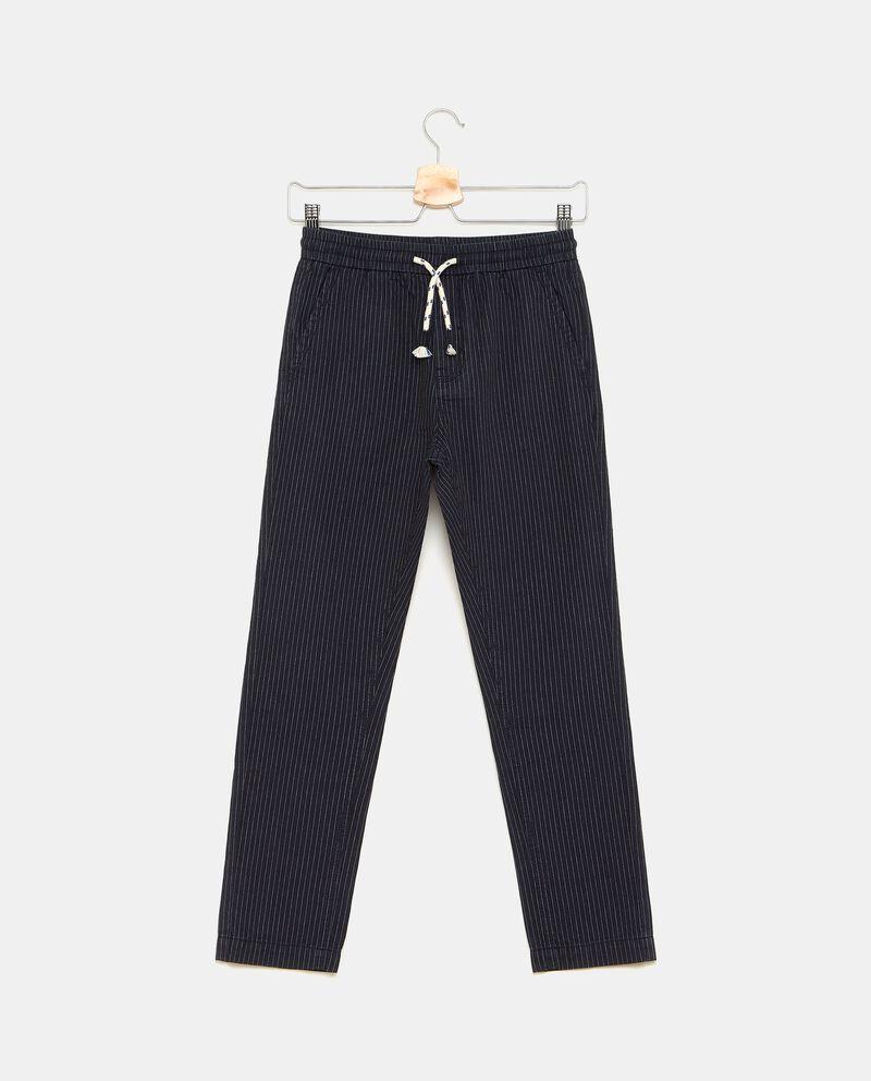 Pantaloni con motivo a righe bambino cover