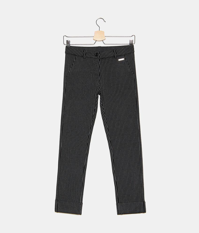 Pantaloni gessati ragazza