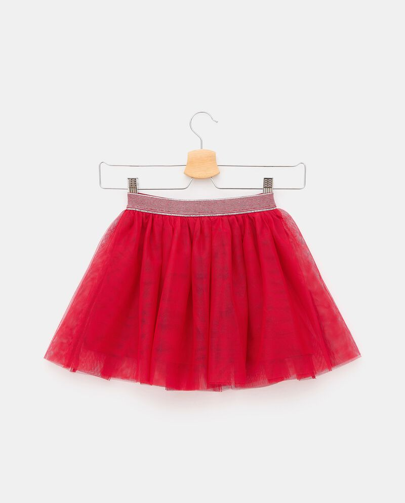 Gonna in tulle bambinadouble bordered 0