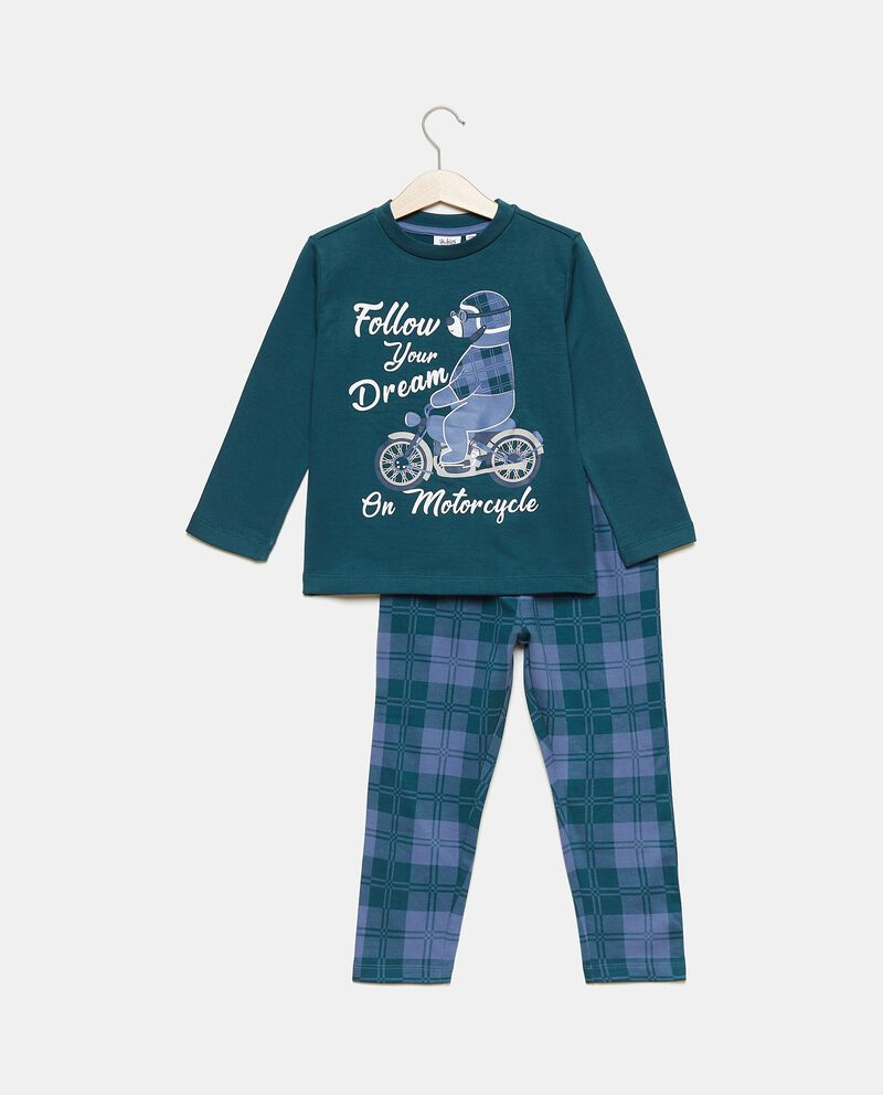 Set maglia e pantaloni in puro cotone