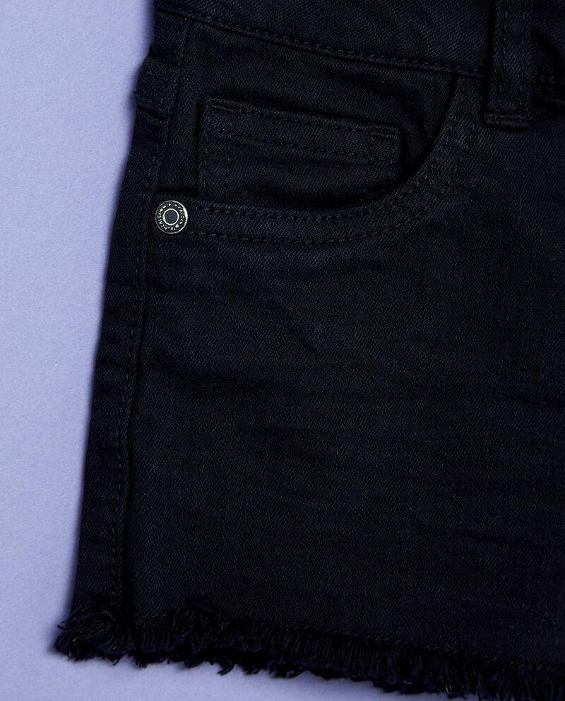 Shorts in denim stretch con tasche