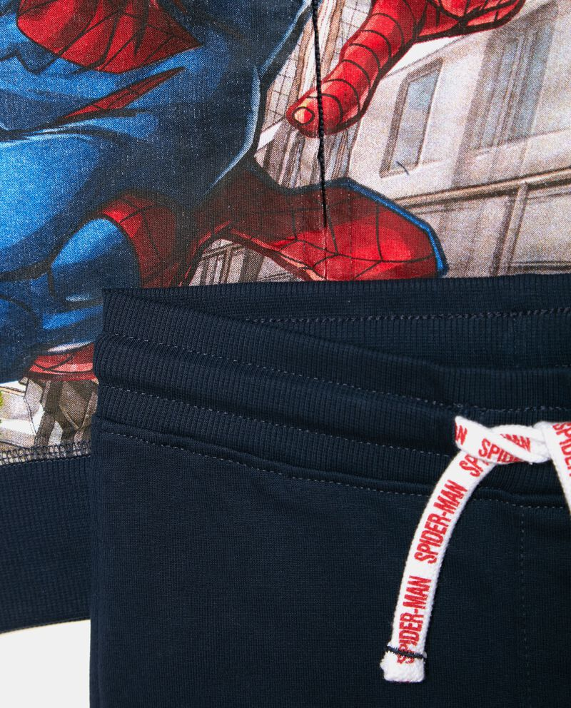 Set jogging stampa Spiderman bambino