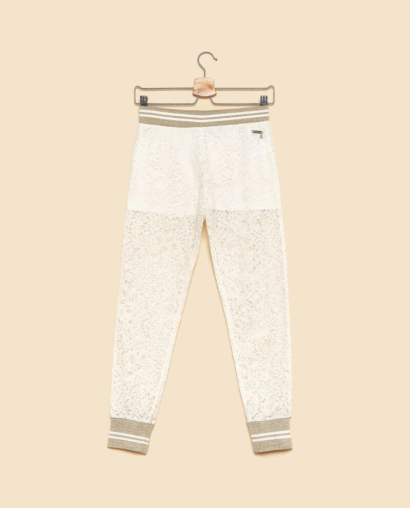 Pantaloni con pizzo ragazza