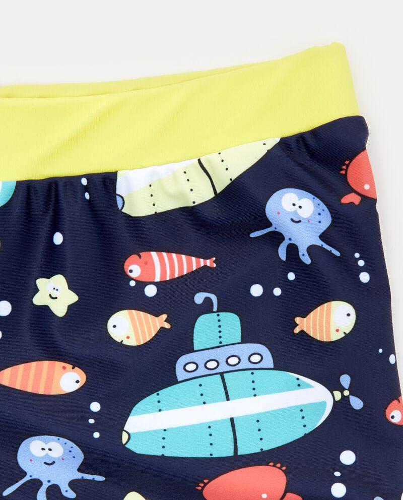 Costume boxer con fantasia sottomarini bambino