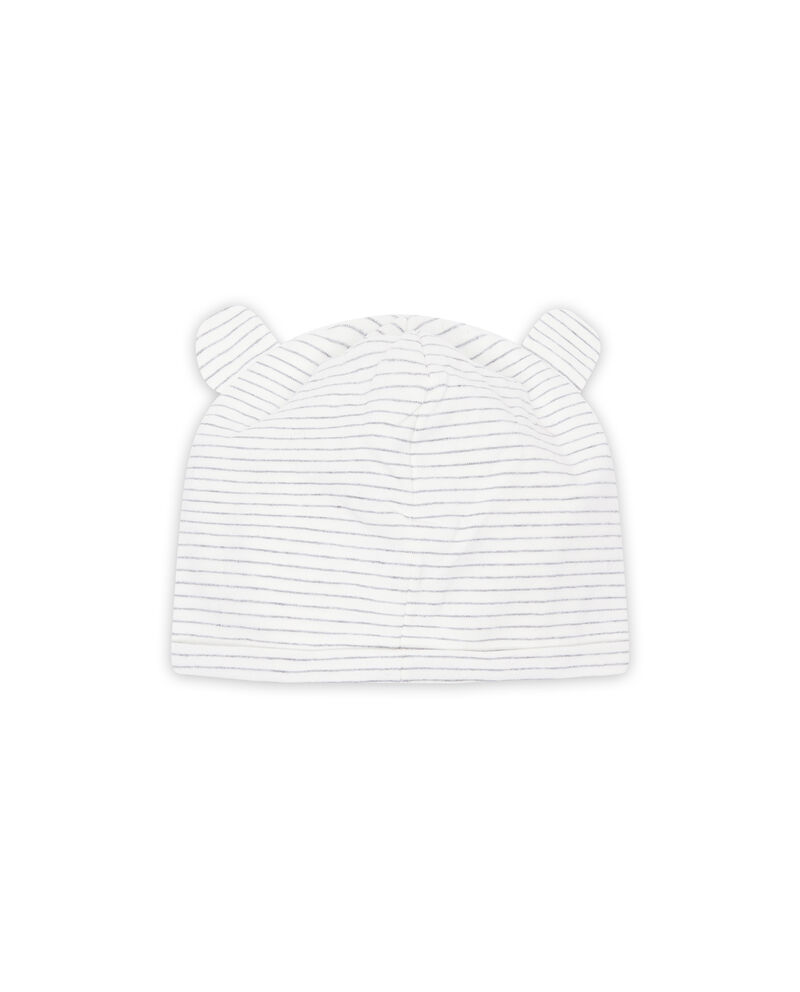 Cappello a cuffia stretch orsetto