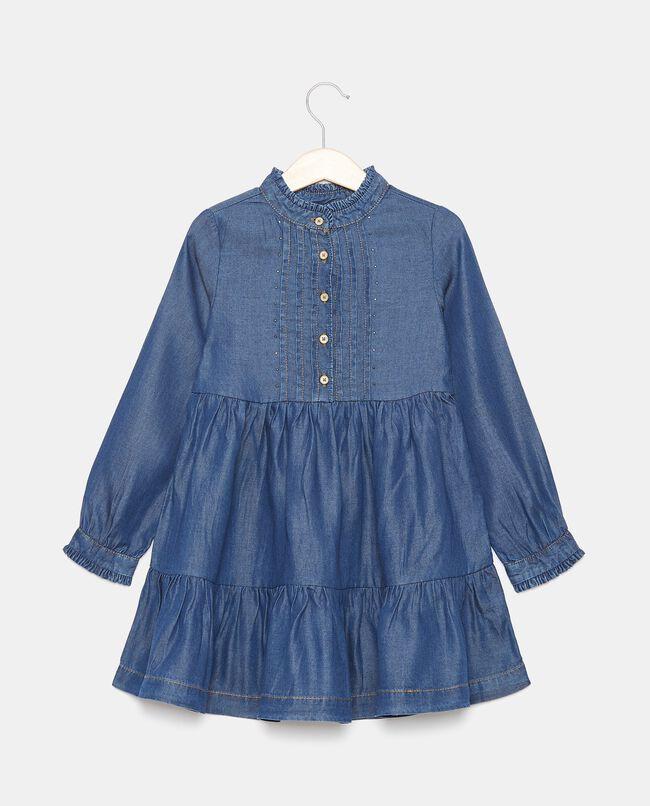 Vestito in lyocell con borchiette bambina carousel 0