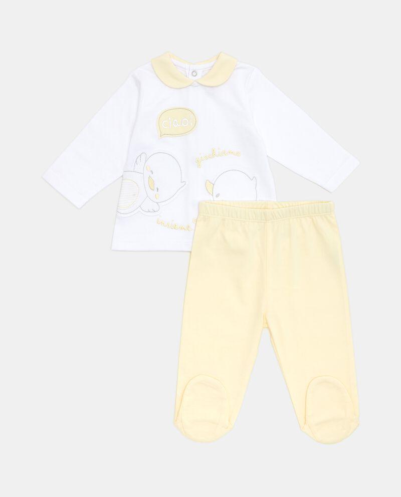 Set in puro cotone bebè