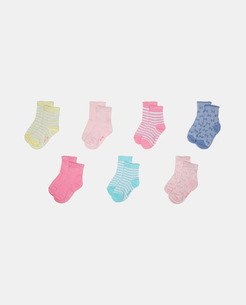 Seven pack bambina calzini corti