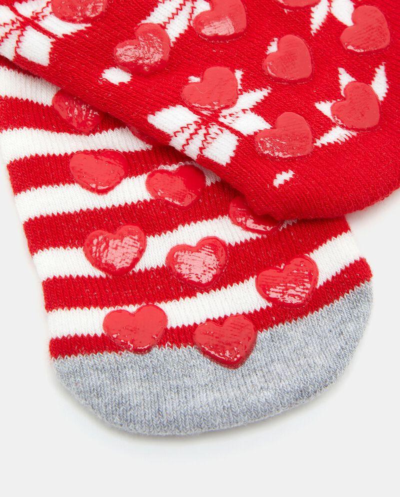 Bipack calzini antiscivolo di cotone biologico
