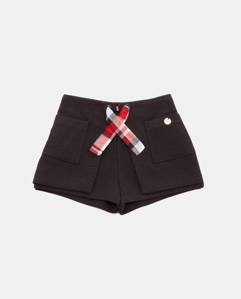 Shorts con tasconi neonata