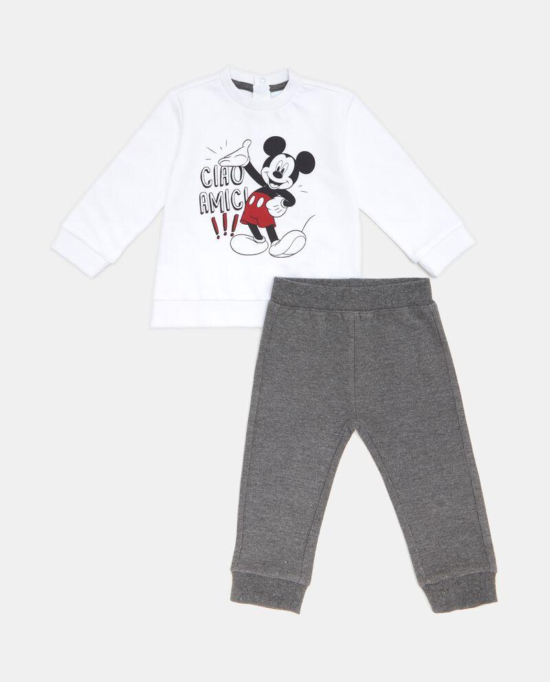 Set felpa Topolino e pantaloni neonato