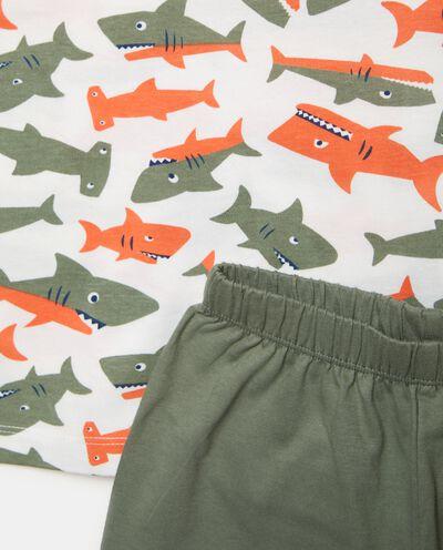 Bipack set pigiami stampati in puro cotone bambino